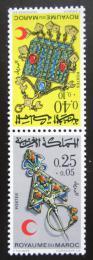 Poštovní známky Maroko 1971 Šperky Mi# 682-83 TB