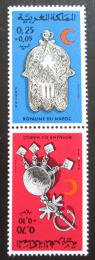 Poštovní známky Maroko 1975 Šperky Mi# 799-800 TB
