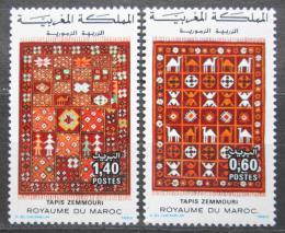 Poštovní známky Maroko 1983 Vzory kobercù Mi# 1038-39