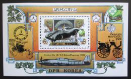 Poštovní známka KLDR 1981 Výstava NAPOSTA Mi# Block 96 Kat 7.50€