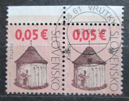 Poštovní známky Slovensko 2009 Kostel, Šivetice, pár Mi# 599