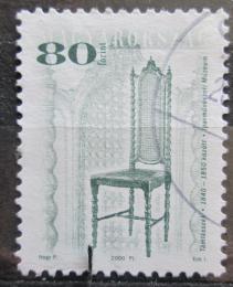 Poštovní známka Maïarsko 2000 Židle Mi# 4631