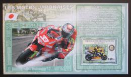 Poštovní známka Kongo Dem. 2006 Závodní motocykly DELUXE Mi# N/N