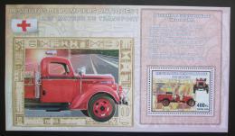 Poštovní známka Kongo Dem. 2006 Hasièská auta DELUXE Mi# N/N