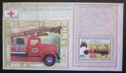 Poštovní známka Poštovní známka Kongo Dem. 2006 Hasièská auta DELUXE Mi# N/N