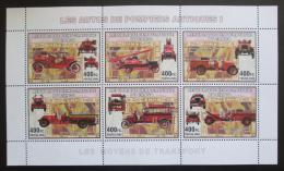 Poštovní známky Kongo Dem. 2006 Hasièská auta Mi# N/N