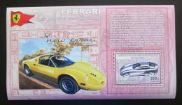 Poštovní známka Kongo Dem. 2006 Ferrari 612 Scaglietti DELUXE Mi# N/N