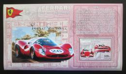 Poštovní známka Kongo Dem. 2006 Ferrari Enzo DELUXE Mi# N/N