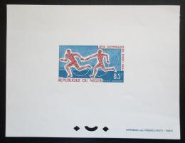 Poštovní známka Niger 1964 LOH, štafetový bìh DELUXE, vzácné Mi# 80 B