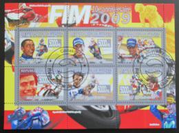 Poštovní známky Guinea 2008 Motocyklové závody Mi# 5782-87 Kat 12€