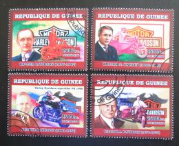 Poštovní známky Guinea 2006 Harley Davidson Mi# 4465-68 Kat 12€
