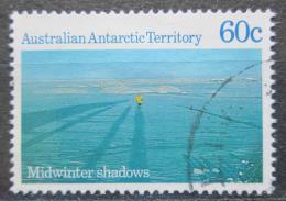 Poštovní známka Australská Antarktida 1987 Zimní stíny Mi# 78