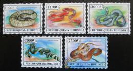 Poštovní známky Burundi 2013 Hadi Mi# 3223-27