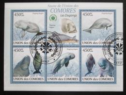 Poštovní známky Komory 2009 Dugong Mi# 2440-44 Kat 10€  - zvìtšit obrázek