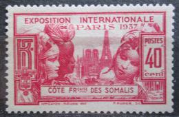 Poštovní známka Francouzské Somálsko 1937 Svìtová výstava v Paøíži Mi# 144