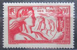Poštovní známka Francouzské Somálsko 1937 Svìtová výstava v Paøíži Mi# 146