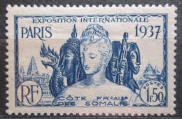 Poštovní známka Francouzské Somálsko 1937 Svìtová výstava v Paøíži Mi# 147