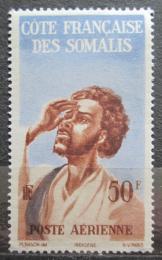 Poštovní známka Francouzské Somálsko 1947 Domorodec Mi# 304
