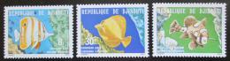 Poštovní známky Džibutsko 1978 Ryby Mi# 231-33