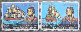 Poštovní známky Džibutsko 1981 Horatio Nelson a plachetnice Mi# 306-07