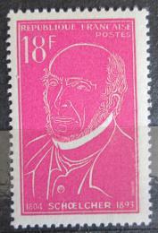 Poštovní známka Francie 1957 Victor Schoelcher, politik Mi# 1121