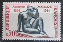 Poštovní známka Francie 1961 Socha, Aristide Maillol Mi# 1334