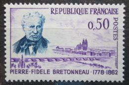 Poštovní známka Francie 1962 Pierre Fidele Bretonneau, lékaø Mi# 1381