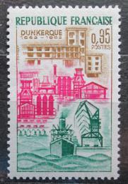 Poštovní známka Francie 1962 Dünkirchen, 300. výroèí Mi# 1388