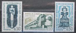 Poštovní známky Francie 1962 Odboj Mi# 1389-91