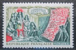 Poštovní známka Francie 1962 Výroba gobelínù Mi# 1397