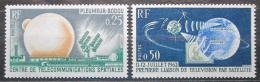 Poštovní známky Francie 1962 Telstar Mi# 1413-14