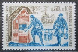 Poštovní známka Francie 1971 Den známek Mi# 1743