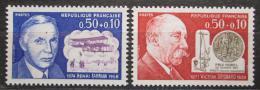 Poštovní známky Francie 1971 Osobnosti Mi# 1751-52