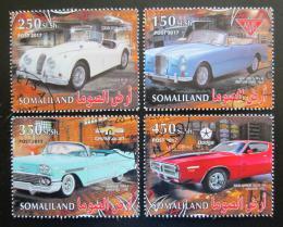 Poštovní známky Somálsko 2017 Klasické automobily Mi# N/N