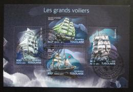 Poštovní známky Togo 2015 Plachetnice Mi# 6892-95 Kat 14€