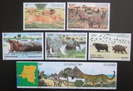 Poštovní známky Kongo Dem., Zair 1982 Fauna TOP SET Mi# 779-85 Kat 30€