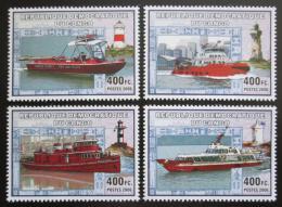 Poštovní známky Kongo Dem. 2006 Lodì a majáky Mi# N/N