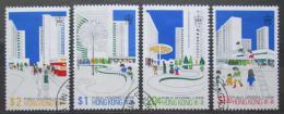 Poštovní známky Hongkong 1981 Bytová výstavba Mi# 376-79 X