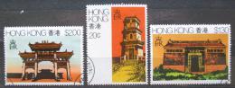 Poštovní známky Hongkong 1980 Tradièní architektura Mi# 360-62 Kat 6.50€