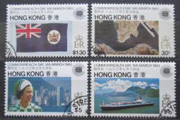 Poštovní známky Hongkong 1983 Den Commonwealthu Mi# 411-14 Kat 9€