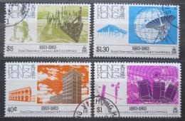 Poštovní známky Hongkong 1983 Observatoø, 100. výroèí Mi# 419-22 Kat 13€