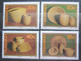Poštovní známky Transkei, JAR 1989 Proutìné výrobky Mi# 234-37