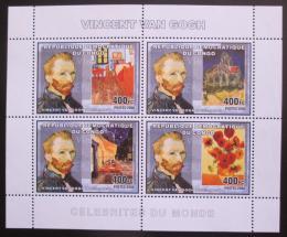 Poštovní známky Kongo Dem. 2006 Umìní, Vincent van Gogh Mi# N/N