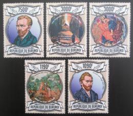 Poštovní známky Burundi 2013 Umìní, Vincent van Gogh Mi# 3083-87 Kat 10€