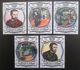 Poštovní známky Burundi 2013 Umìní, Paul Sérusier Mi# 3053-57 Kat 10€