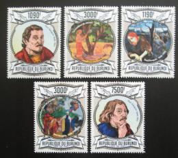 Poštovní známky Burundi 2013 Umìní, Paul Gauguin Mi# 3078-82 Kat 10€