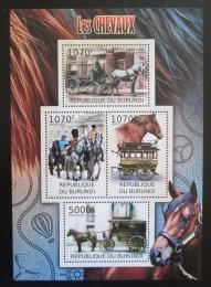 Poštovní známky Burundi 2012 Dostavníky Mi# 2401-04 Kat 10€