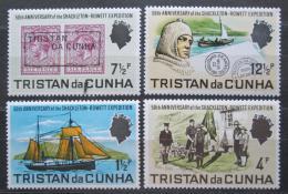Poštovní známky Tristan da Cunha 1971 Expedice Shackleton-Rowett Mi# 153-56 8€