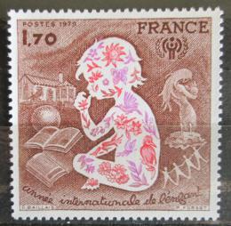 Poštovní známka Francie 1979 Mezinárodní rok dìtí Mi# 2133