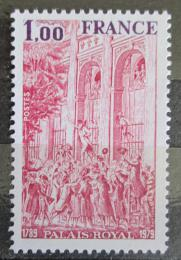 Poštovní známka Francie 1979 Palais Royal, 200. výroèí Mi# 2153